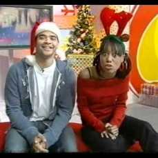 This was me and Michael Underwood's very last day on CITV Christmas 2002