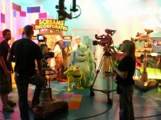 A look behind the scenes as we play Monsters Incorporated on Studio Disney
