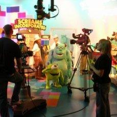 A look behind the scenes as we play Monsters Incorporated on Studio Disney