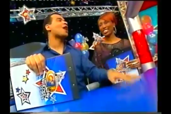 Michael Underwood and I were very proud to present the 20th CITV Anniversary party on ITV. It was a celebration to remember!