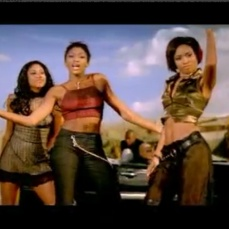 """Kleshay performs in their music video for """"Rush"""" in 1998-99"""
