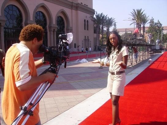 LEAH CHARLES KING Shrine Auditorium Los Angeles BET