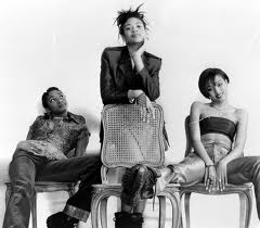 Kleshay Promo Pic - Leah Charles-King, Candy Cherry & Alani Gibbon around 1996-97