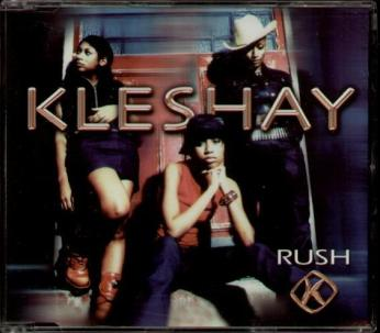 "Kleshay - ""Rush"" CD single cover"