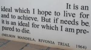 Nelson Mandela prepared to die speech