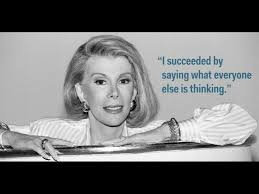Joan Rivers success quotes