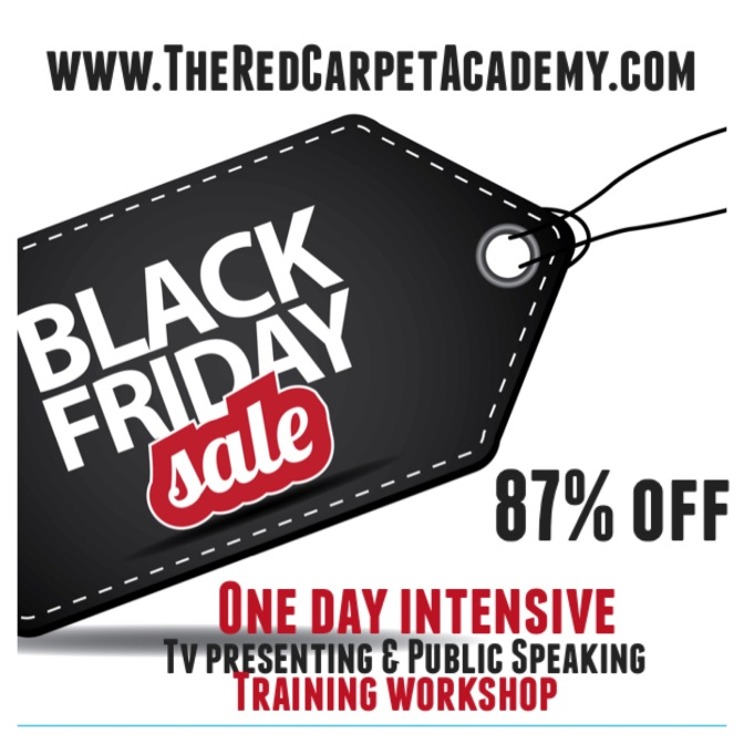 BLACK FRIDAY SPECIAL – One Day Intensive Presenting & Public Speaking Training